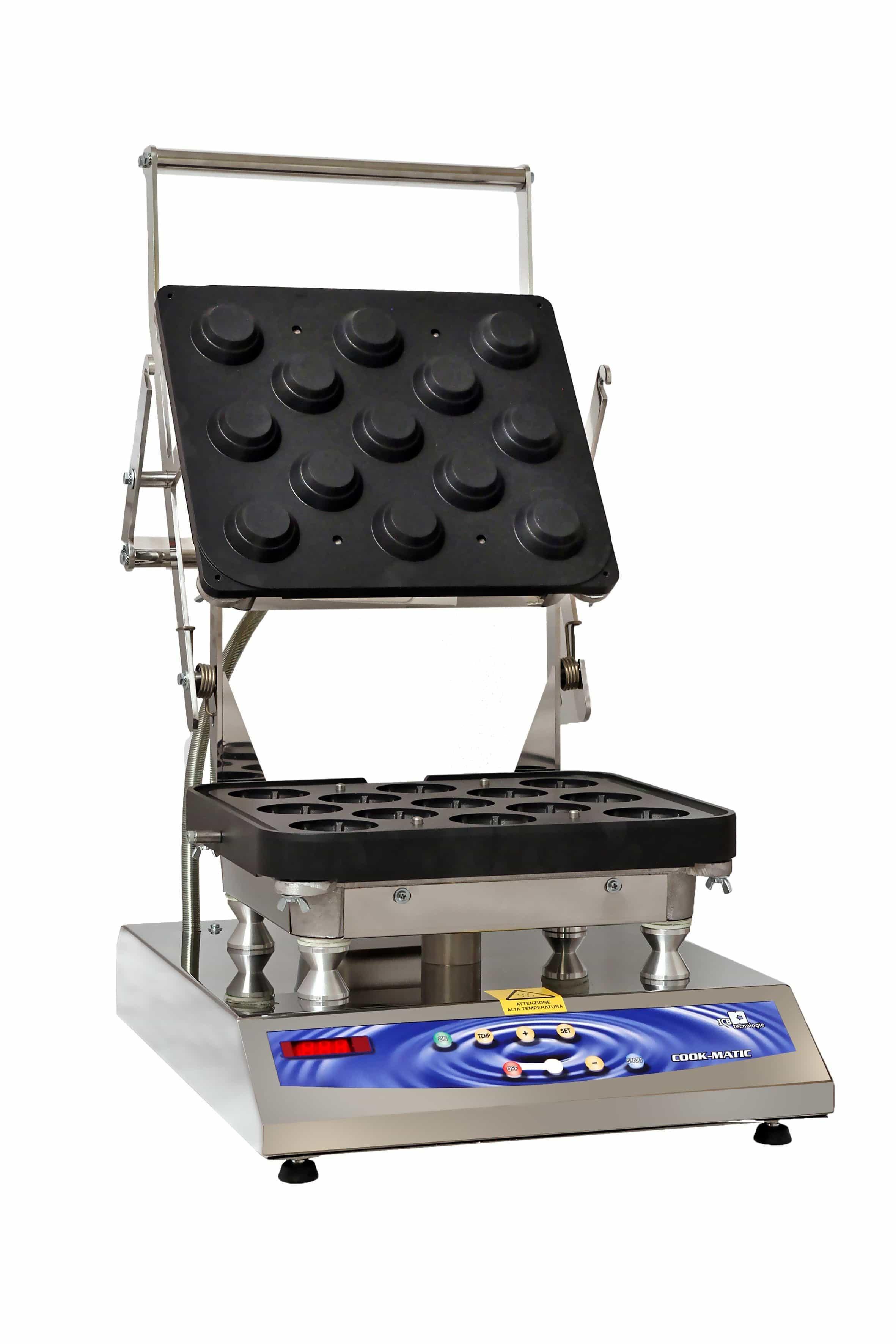 Moule A Tartelette Professionnel machine professionnelle pour tartelettes cook-matic - icb